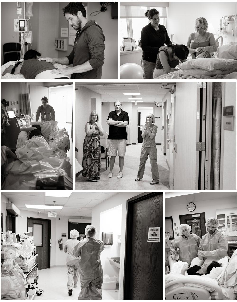 Rowan hospital birth Twin Cities photographer Megan Crown