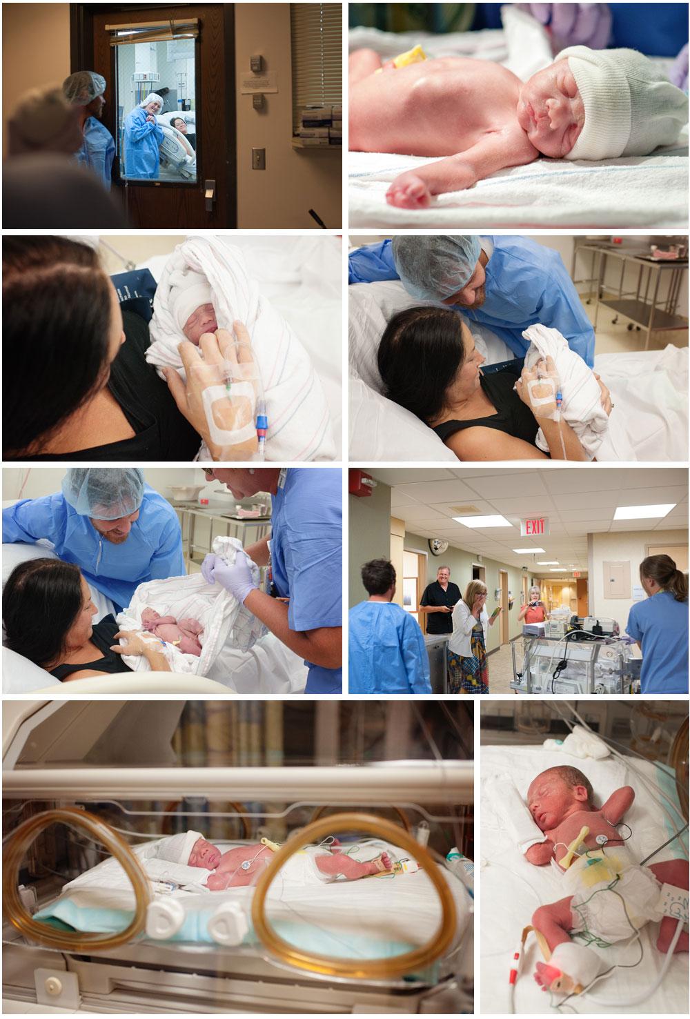 Rowan hospital birth Twin Cities photographer Megan Crown 3