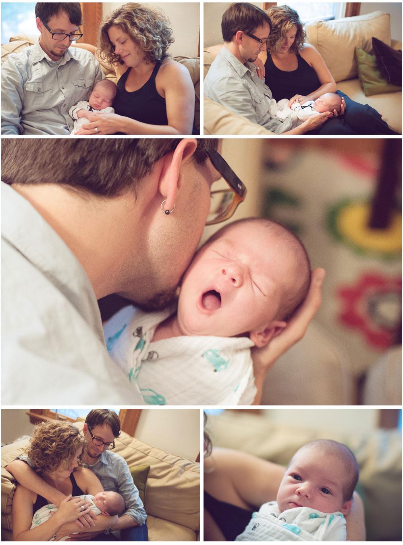 Baby Milo 3 - Minneapolis Birth Photographer Megan Crown