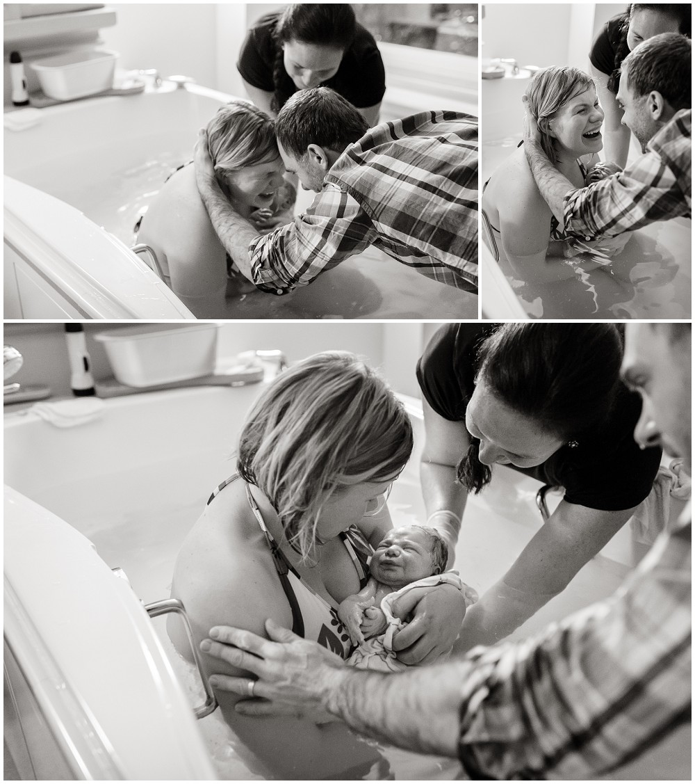 Sweet, peaceful midwife attended Hospital Birth of baby Ansel by St. Paul Minneapolis Twin Cities Photographer Megan Crown Photography 5