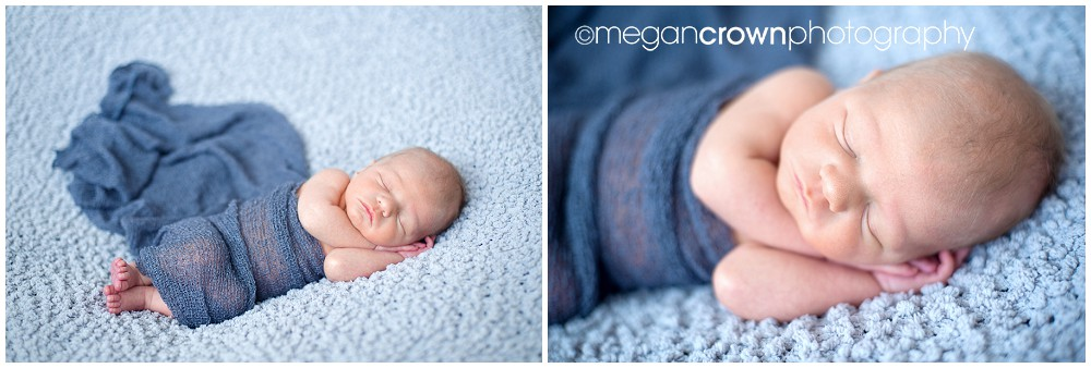 Baby Cameron by Woodbury newborn photographer Megan Crown 5