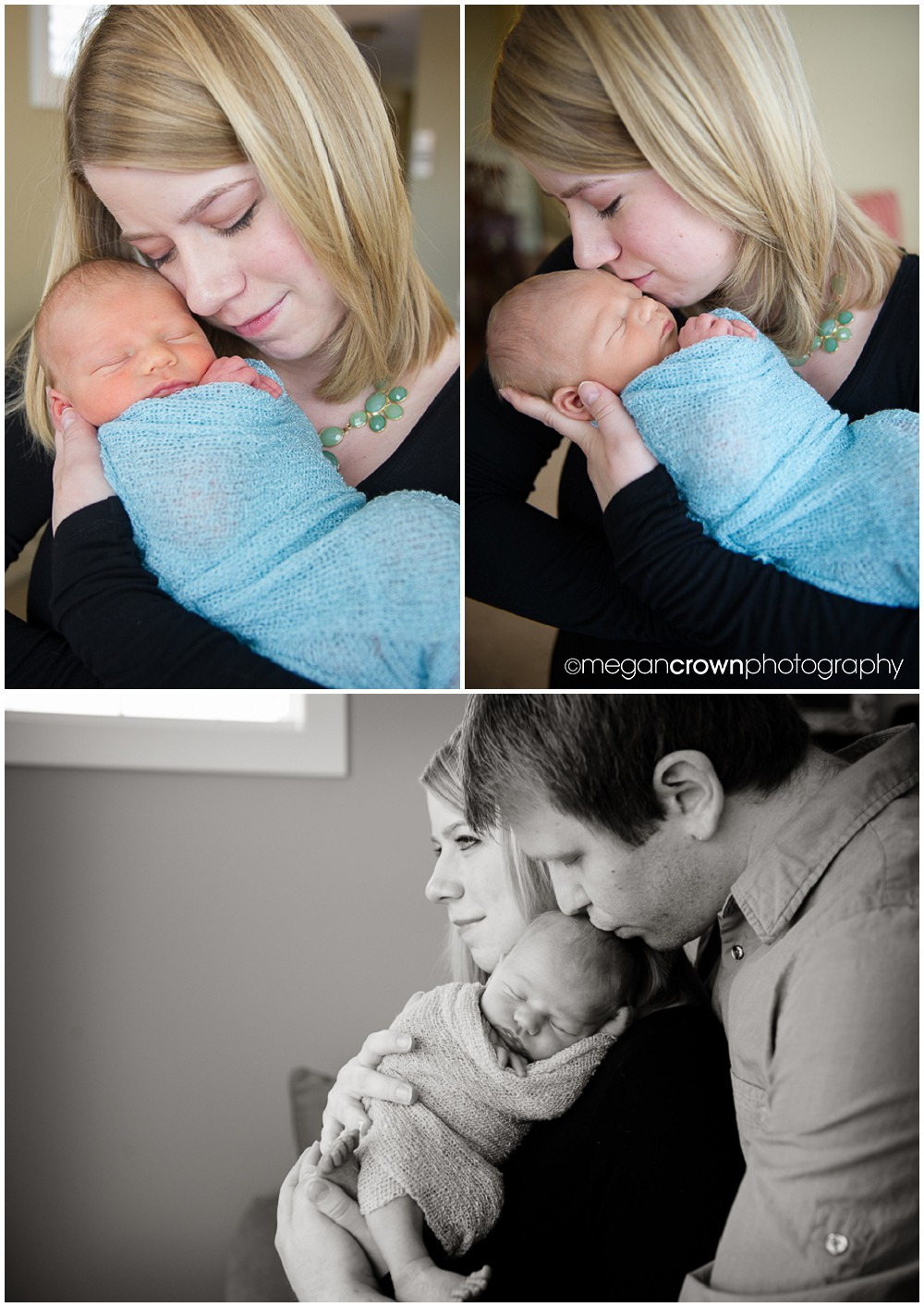 Baby Cameron by Woodbury newborn photographer Megan Crown 7