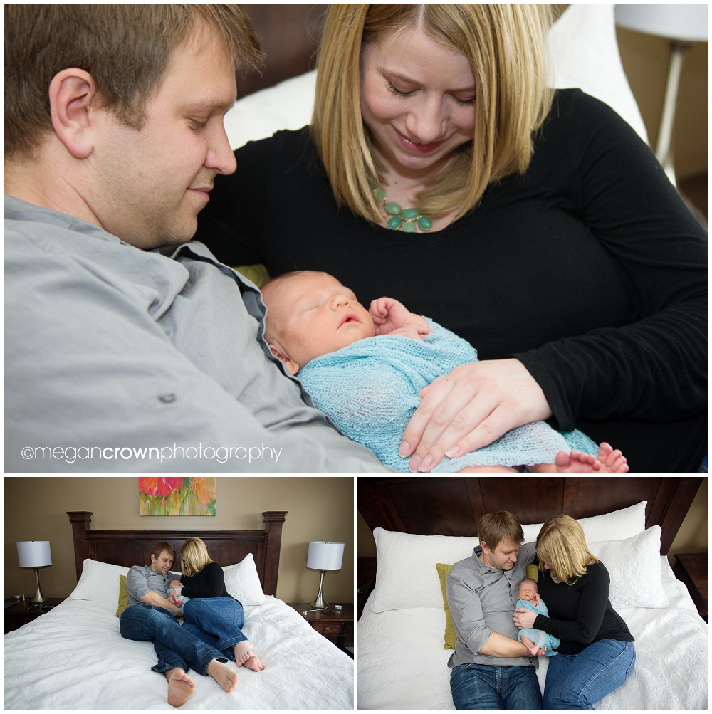 Infant Cameron by Woodbury newborn photographer Megan Crown 1