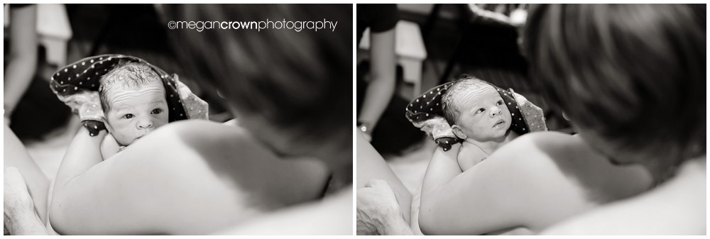 Baby Eli home birth by Megan Crown Photography - a St. Paul birth Photographer