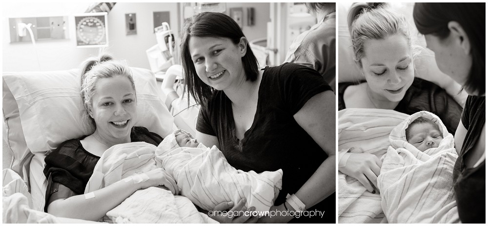 Baby Tabitha's hospital birth by Minneapolis photographer Megan Crown