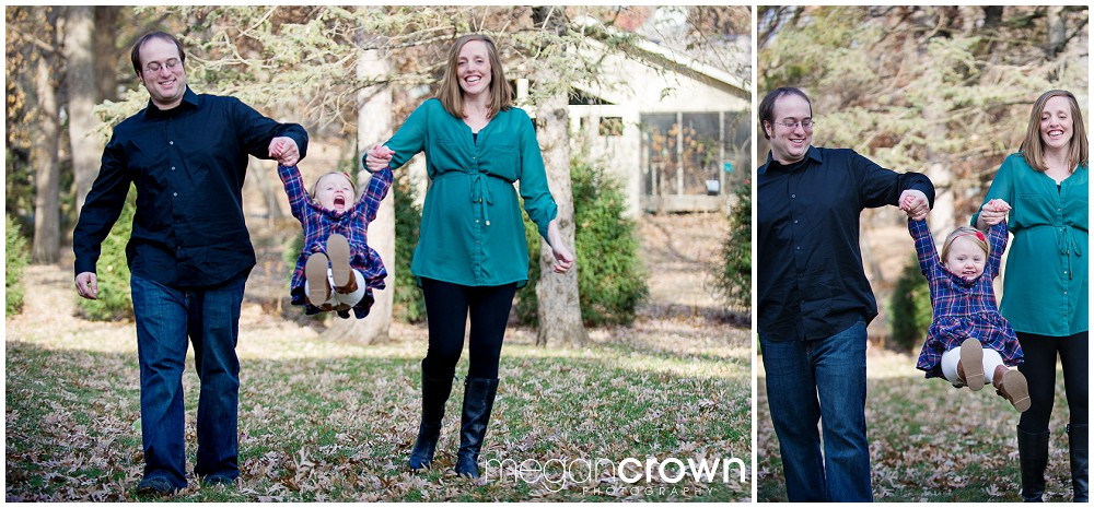 Family mini session Edina maternity photographer Megan Crown