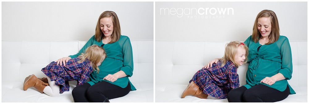 Family mini session Edina toddler photographer Megan Crown