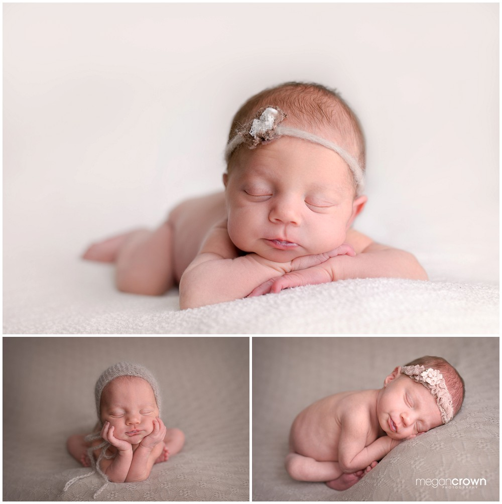 Woodbury in Home Newborn Photography by Photographer Megan Crown