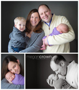Vadnais Heights in home Newborn Photography by Megan Crown