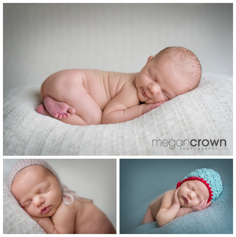 Minneapolis Studio Newborn Photography by Megan Crown