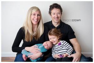 Vadnais Heights Studio Newborn Photographer Megan Crown