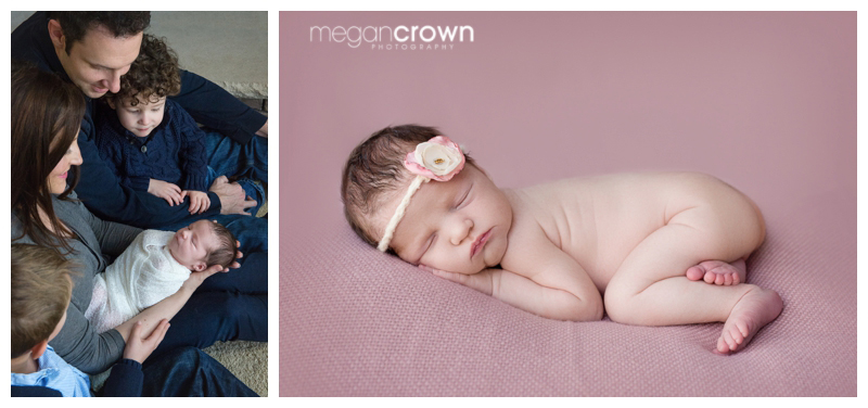 Arden Hills Newborn Photography by Megan Crown